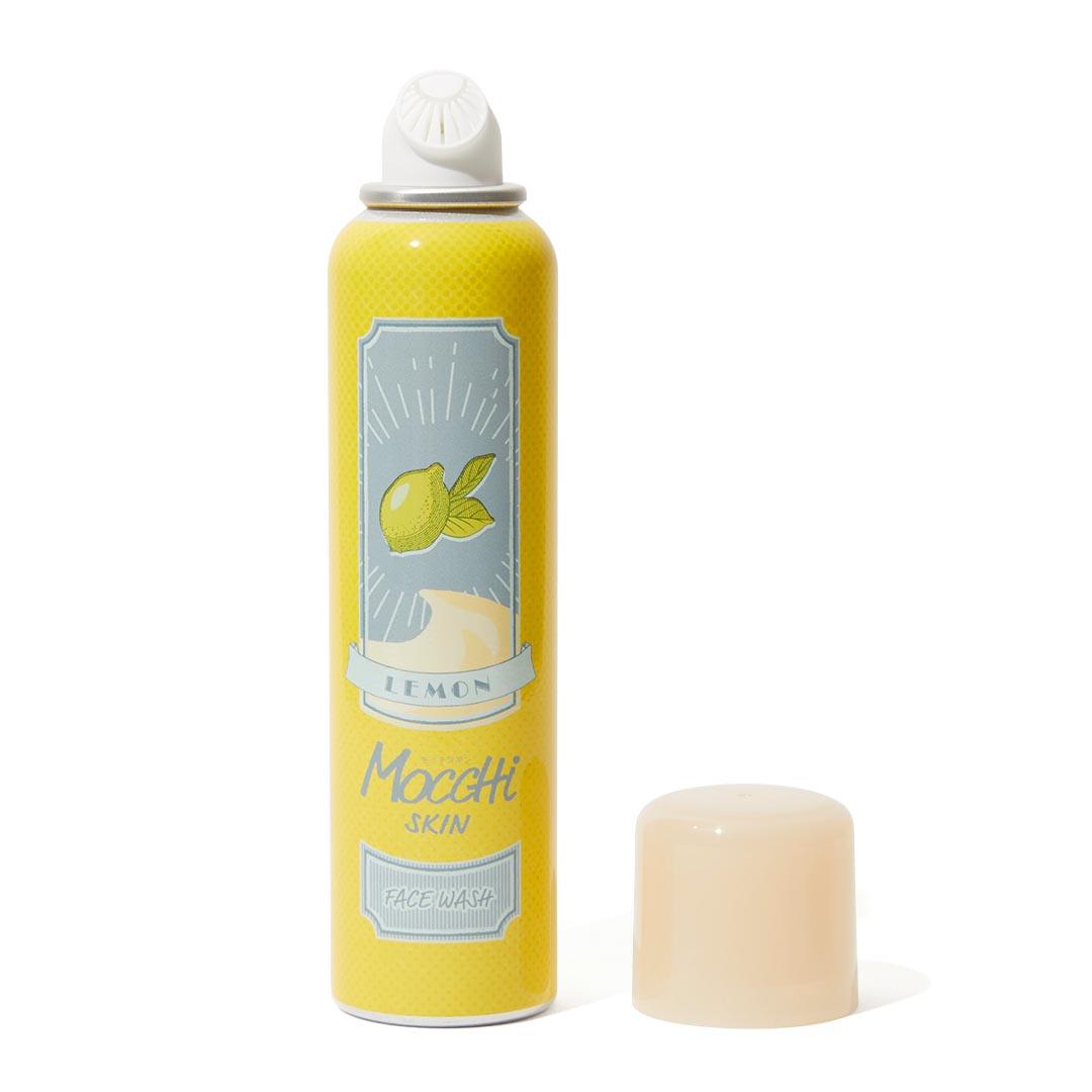 大人気のモッチスキン 吸着泡洗顔シリーズの数量限定レモンをレポに関する画像4