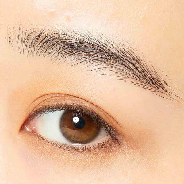 くすみカラーがかわいい!エテュセ『アイエディション(カラーパレット) 04 オレンジブラウン』をレポに関する画像7