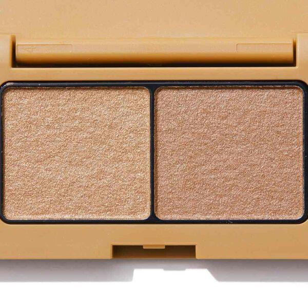 くすみカラーがかわいい!エテュセ『アイエディション(カラーパレット) 04 オレンジブラウン』をレポに関する画像10