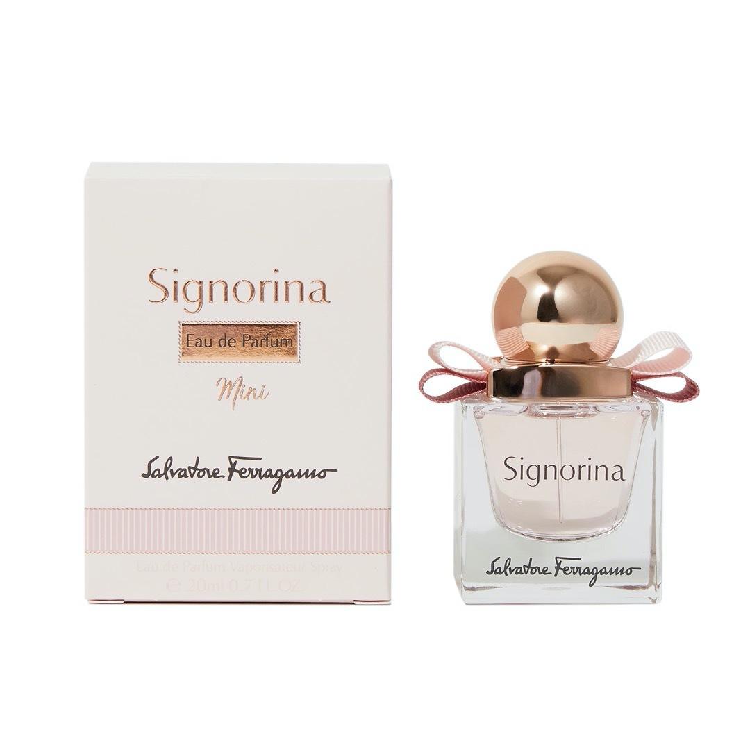 サルヴァトーレ フェラガモから人気の香水『ミニ シニョリーナ オーデパルファム』をご紹介に関する画像4