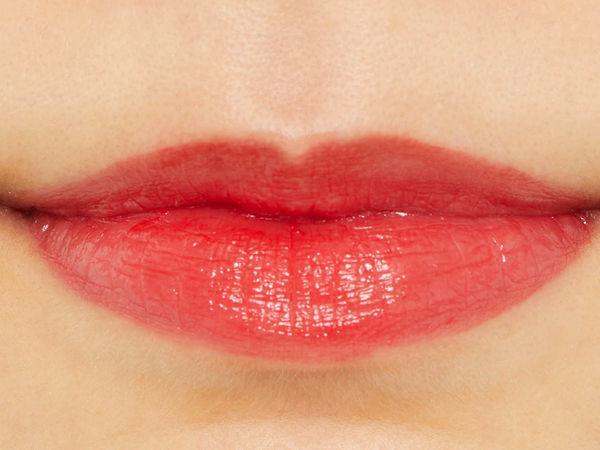 透け感がかわいい♡リカフロッシュ『ジューシーリブティント 02 バラタレッド』をレポ!に関する画像10