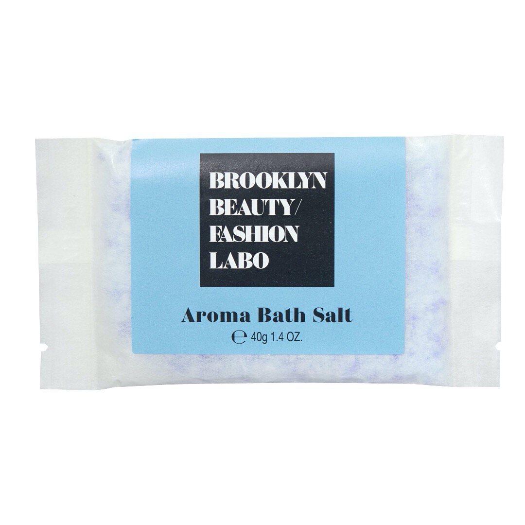 Brooklyn Beauty Fashion Labo(ブルックリンビューティーファッションラボ)『アロマバスソルト ブルー』の使用感をレポ!に関する画像4