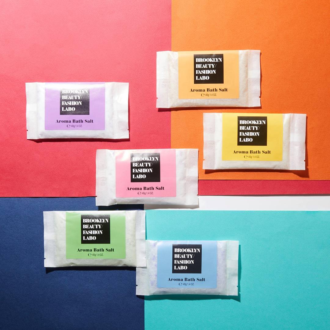 Brooklyn Beauty Fashion Labo(ブルックリンビューティーファッションラボ)『アロマバスソルト ブルー』の使用感をレポ!に関する画像14