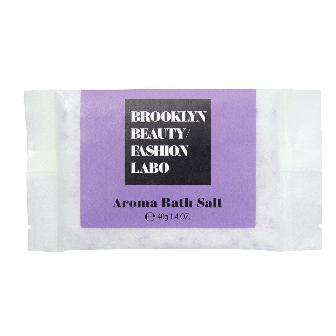 Brooklyn Beauty Fashion Labo(ブルックリンビューティーファッションラボ)『アロマバスソルト パープル』の使用感をレポ!に関する画像4
