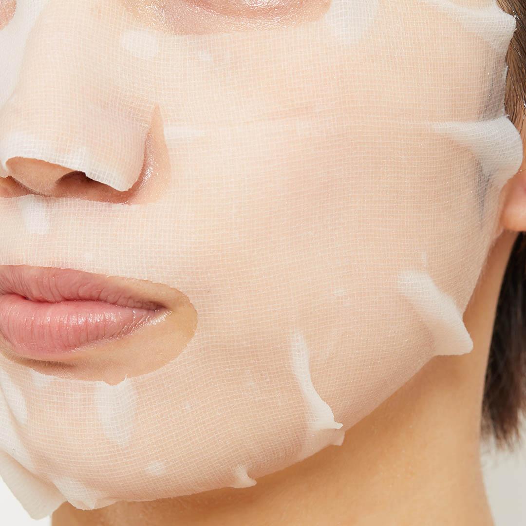 乾燥ダメージを集中ケア♡ アピュー『マデカソ CICAシートマスク』をレポに関する画像7