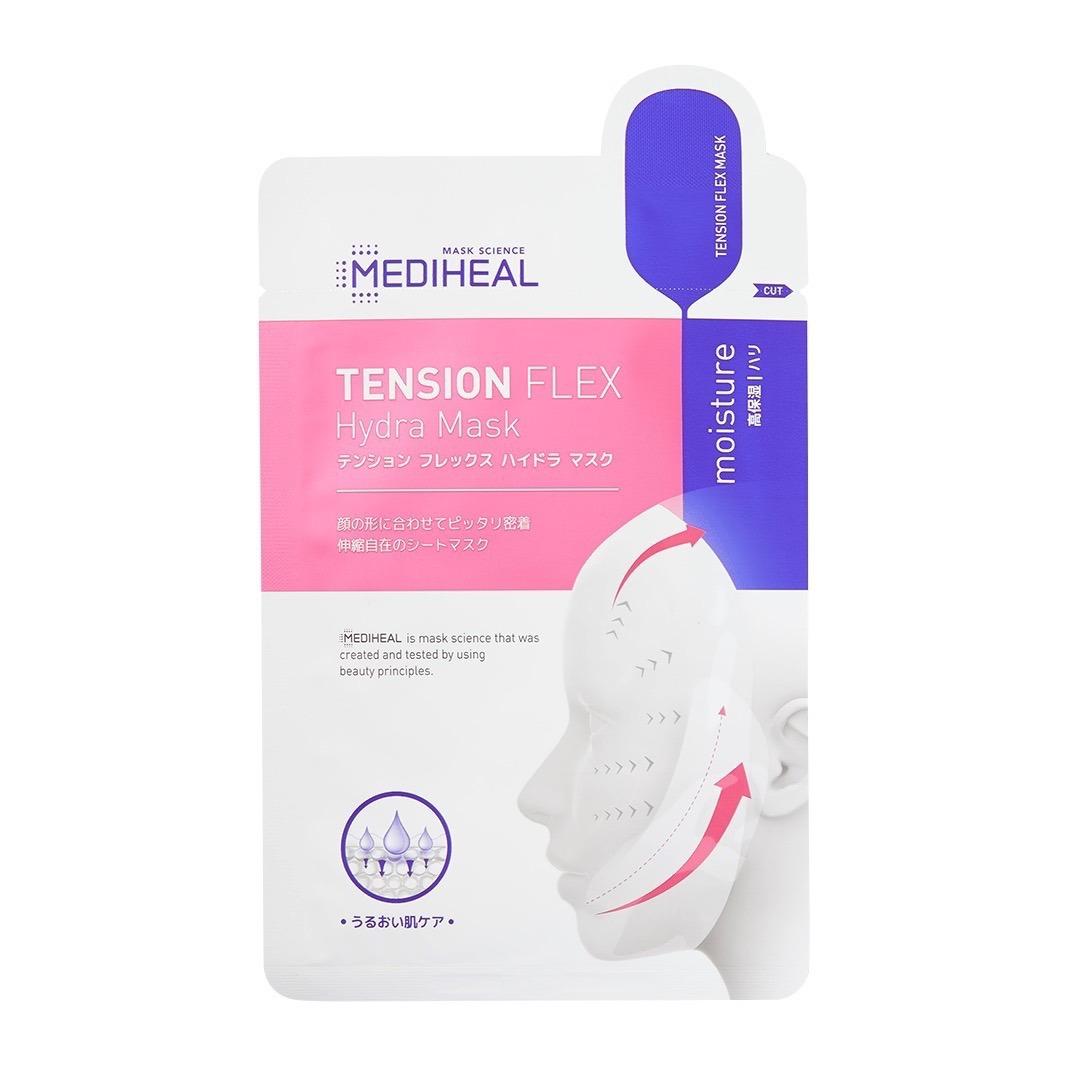 保湿成分配合で肌にうるおいを与える! MEDIHEAL(メディヒール)『テンション フレックス ハイドラマスク』の使用感をレポに関する画像1