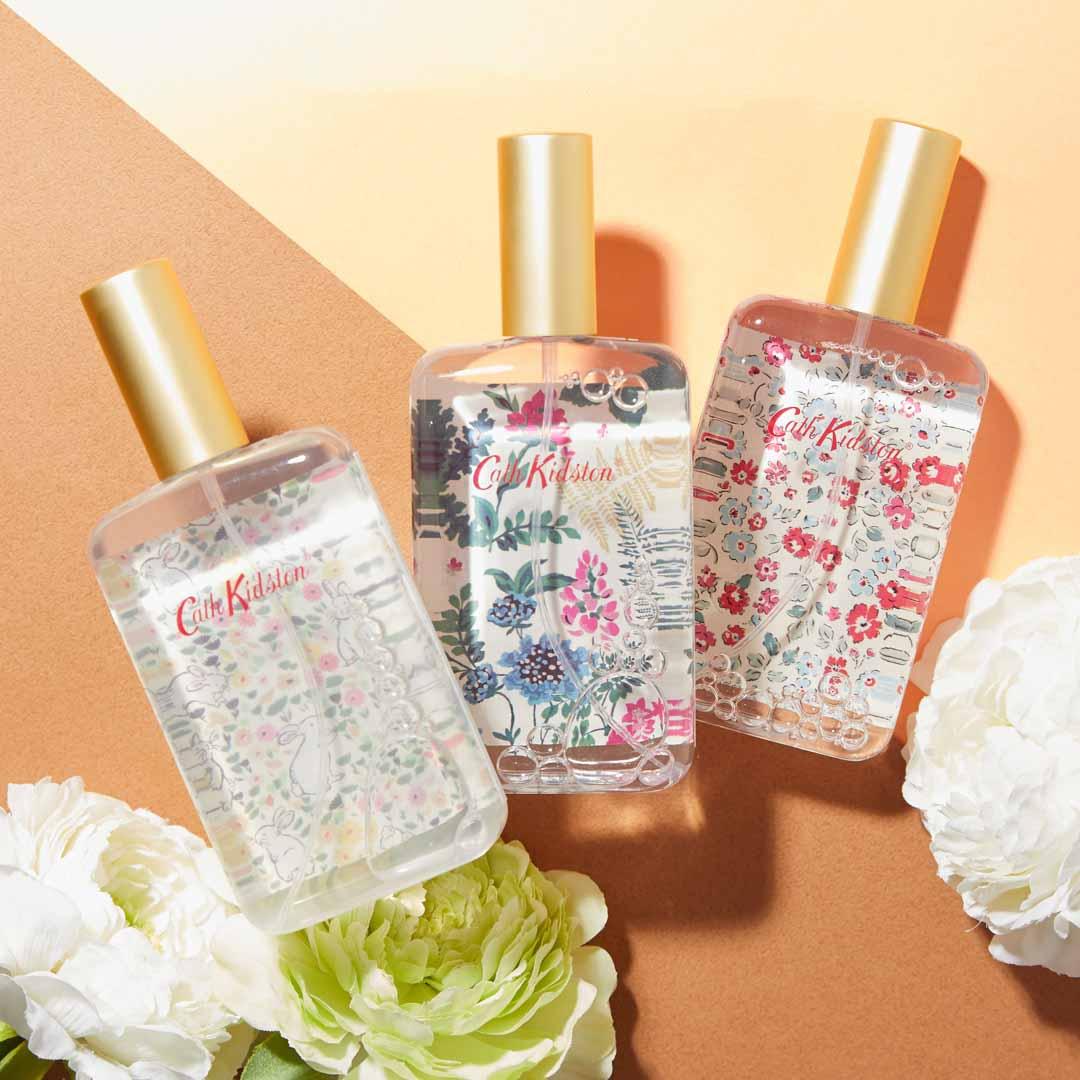 Cath Kidston(キャス・キッドソン)『ボディミスト アップルブロッサムの香り ジャンピングバニー』の使用感をレポ!に関する画像1
