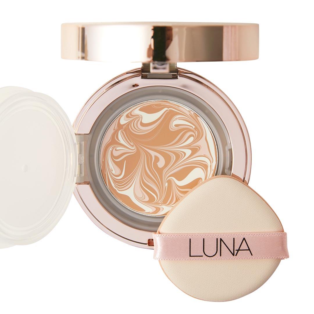 LUNA(ルナ)『エッセンスウォーターパクトCX 23 ミディアムベージュ』の使用感レポ!に関する画像12