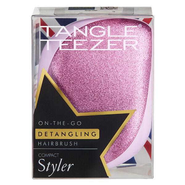 TANGLE TEEZER(タングルティーザー)『コンパクトスタイラー ピンクグリッター』をレポ!に関する画像1