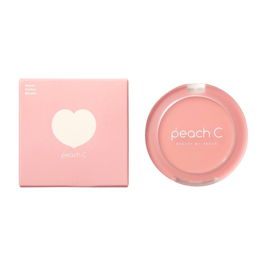 Peach C(ピーチ シー)『ピーチコットンブラッシャー 04 ローズ P チーク』の使用感をレポ!に関する画像4