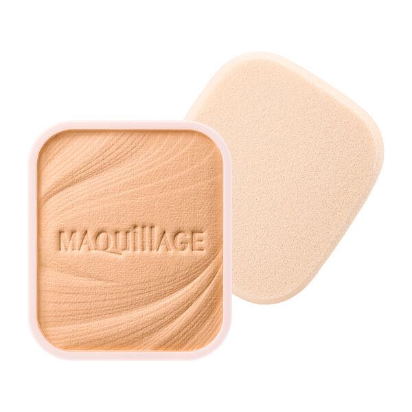 MAQuillAGE(マキアージュ)『ドラマティックパウダリー EX ピンクオークル10 赤みよりでやや明るめ』の使用感をレポ!に関する画像1