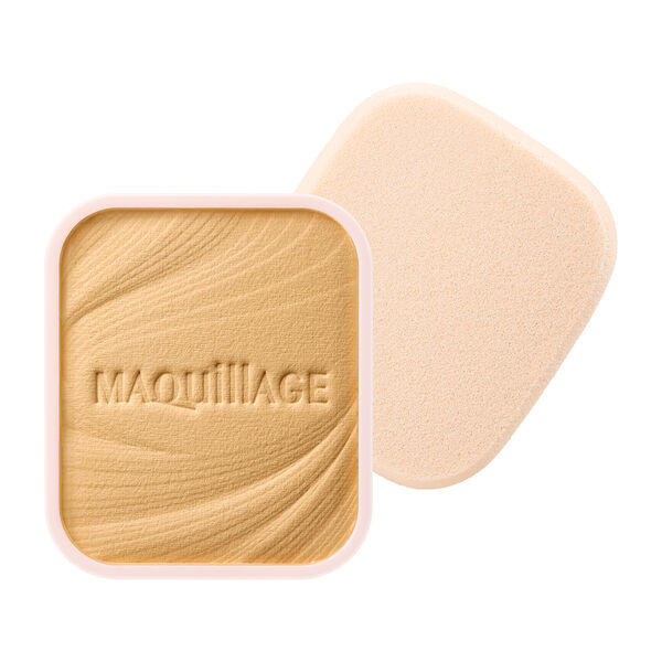 MAQuillAGE(マキアージュ)『ドラマティックパウダリー EX ベージュオークル20 黄みよりで中間的な明るさ』の使用感をレポ!に関する画像1