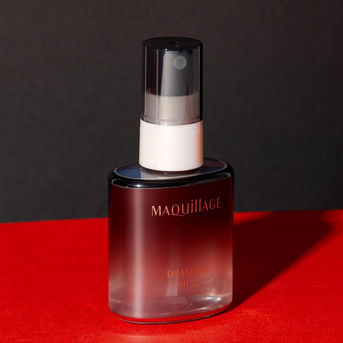 MAQuillAGE(マキアージュ)『ドラマティックミスト』の使用感をレポに関する画像1