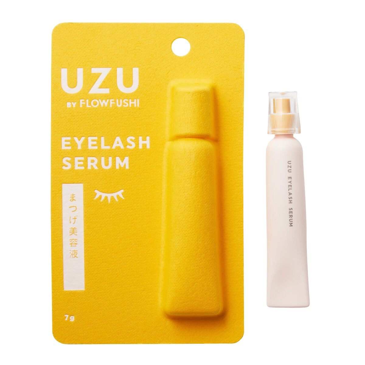 UZU BY FLOWFUSHI(ウズ バイ フローフシ)『まつげ美容液(まつげ・目もと美容液)』の使用感をレポに関する画像4