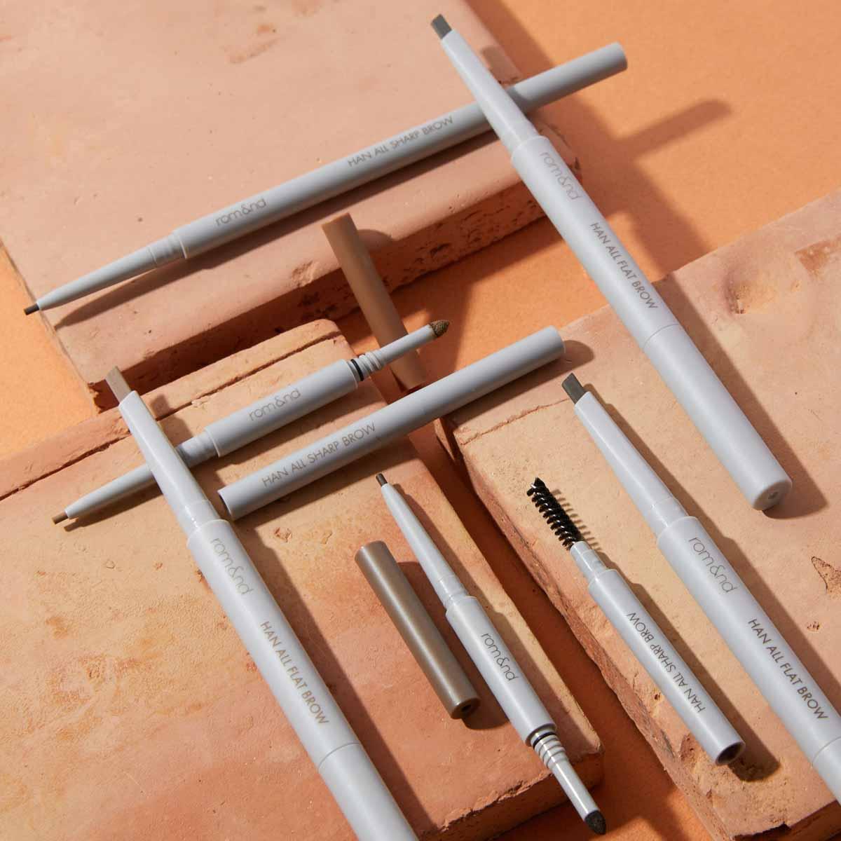 rom&nd(ロムアンド)『ハンオールシャープブロウ w3 メリーブロンディー』の使用感をレポに関する画像1