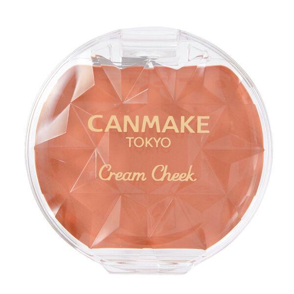 CANMAKE(キャンメイク)『クリームチーク 21 タンジェリンティー』の使用感をレポに関する画像1