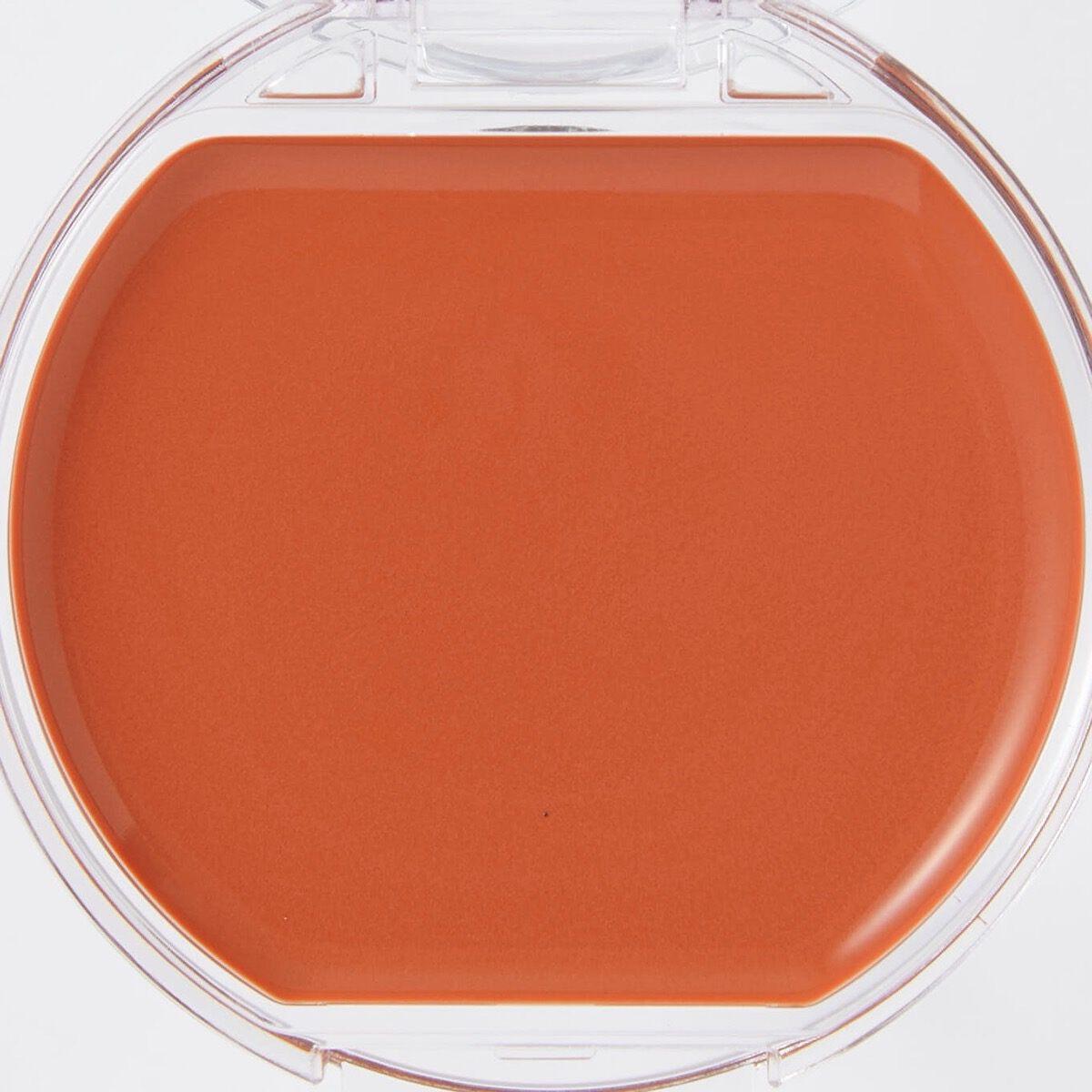 CANMAKE(キャンメイク)『クリームチーク 21 タンジェリンティー』の使用感をレポに関する画像7