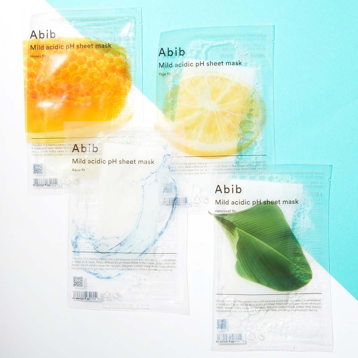 Abib(アビブ)『マイルド アシディック pH シートマスク アクア』の使用感をレポに関する画像1
