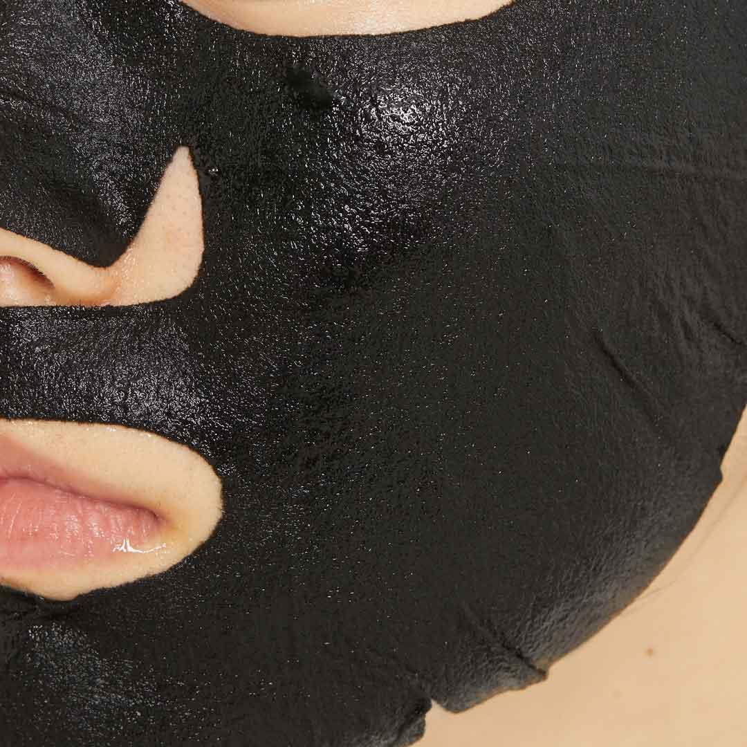 オルフェス『アクアモイスチャーシートマスク ディープブラック 1枚入り』の使用感をレポ!に関する画像10
