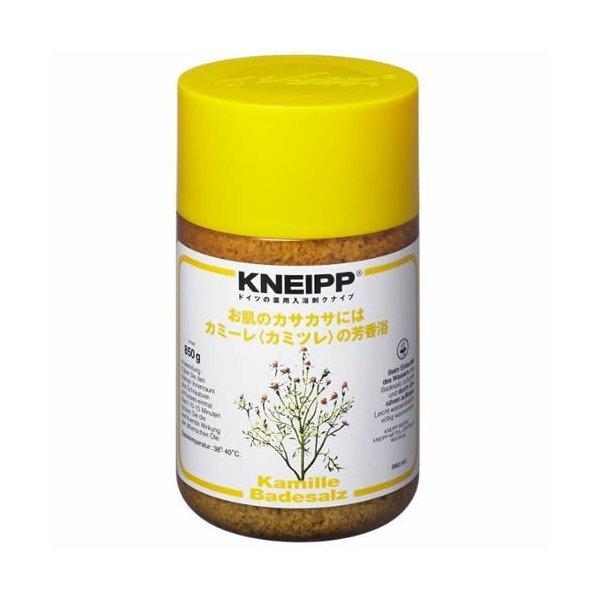 肌のうるおいを保つ!Kneipp(クナイプ)『バスソルト カミーレ<カミツレ>の香り 』の使用感をレポに関する画像1
