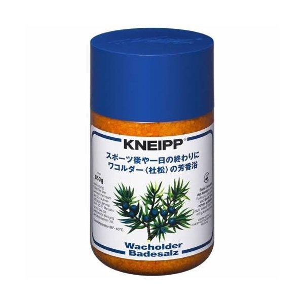 疲れた体に元気と癒やし時間を与えるKNEIPP(クナイプ)『クナイプ バスソルト ワコルダー<杜松>の香り』をご紹介に関する画像1
