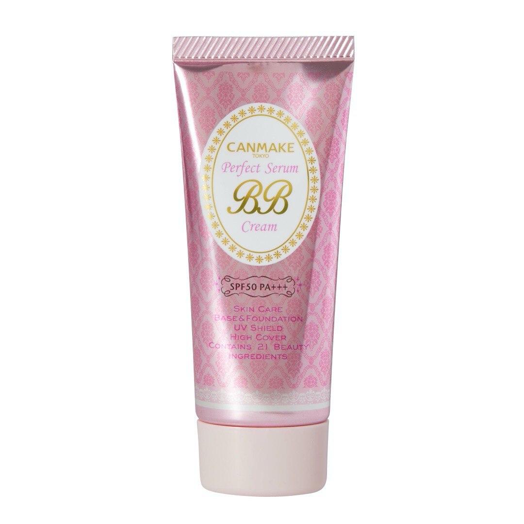 21種類の美容保湿成分を配合したCANMAKE(キャンメイク)『パーフェクトセラム BBクリーム 01 ライト』をご紹介に関する画像1