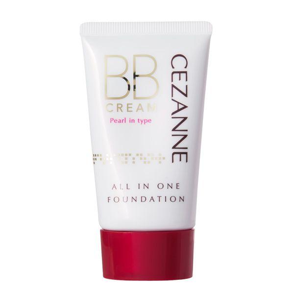 CEZANNE(セザンヌ)『BBクリーム パール入り P2 ナチュラルなオークル』の使用感をレポに関する画像6
