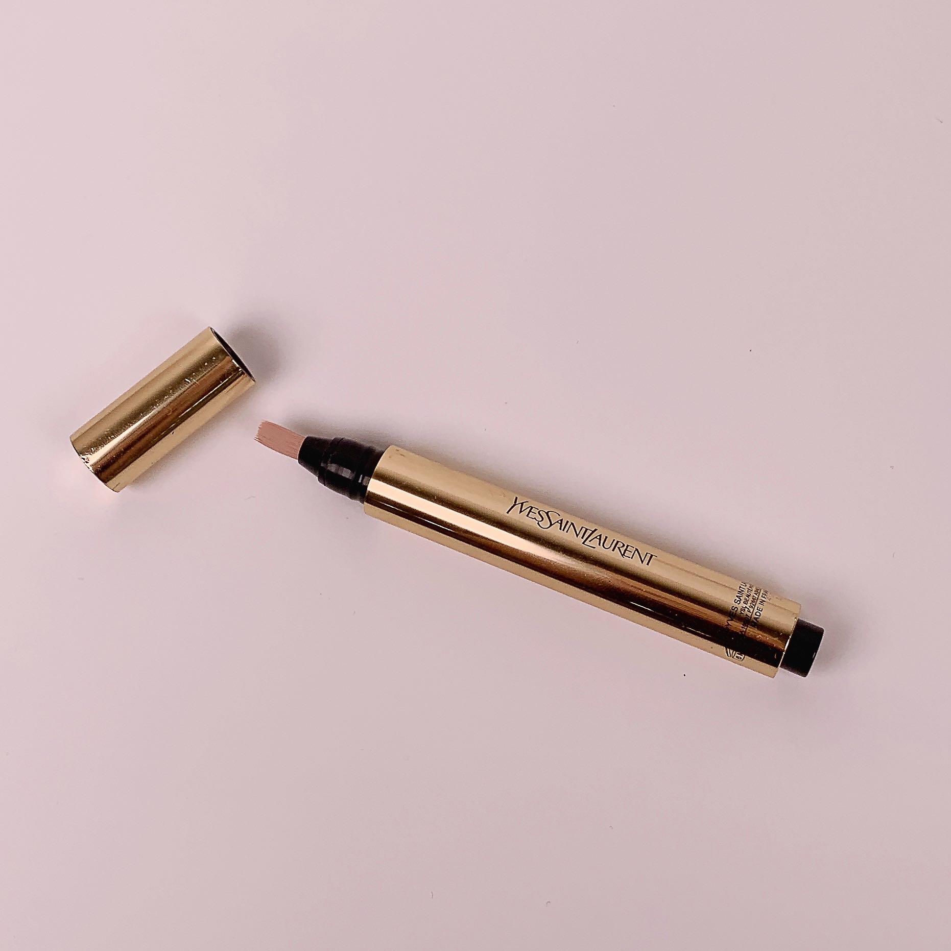言わずと知れた名品!「魔法の筆ペン」イヴ・サンローラン ラディアントタッチはハイライト効果も抜群な万能コンシーラーに関する画像