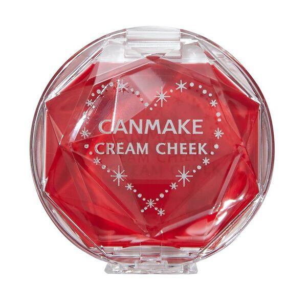メイク初心者にも使いやすいCANMAKE(キャンメイク)『クリームチーク  CL01 クリアレッドハート(クリアタイプ) 』をご紹介に関する画像4