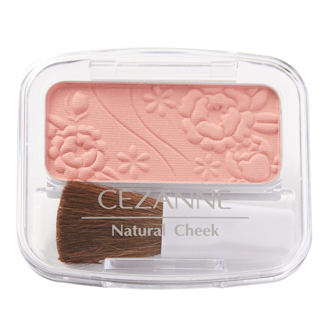 CEZANNE(セザンヌ)『ナチュラル チークN 10 オレンジピンク』の使用感をレポ!に関する画像4