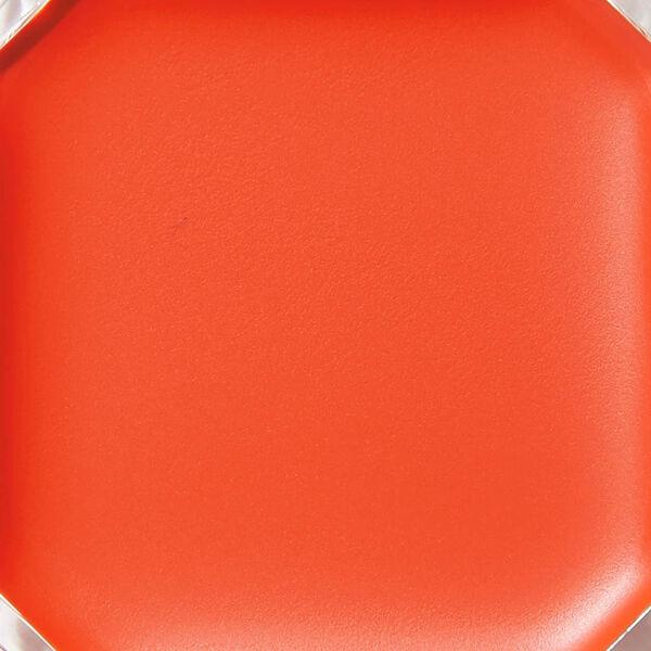 フレッシュなオレンジカラーのCANMAKE(キャンメイク)『リップ&チーク ジェル 02 アップルマンゴーパフェ』の使用感をレポに関する画像4