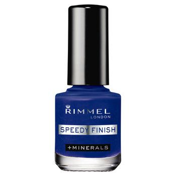 RIMMEL(リンメル)『スピーディ フィニッシュ N 913 ディープブルー』の使用感をレポに関する画像1