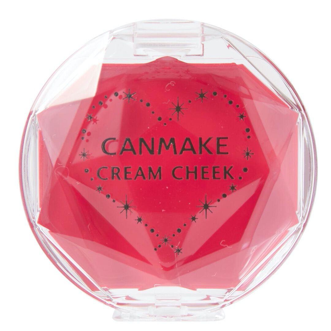 じゅわっとにじむような発色が魅力のCANMAKE(キャンメイク)『クリームチーク CL08 クリアキュートストロベリー (クリアタイプ) 』をご紹介に関する画像4