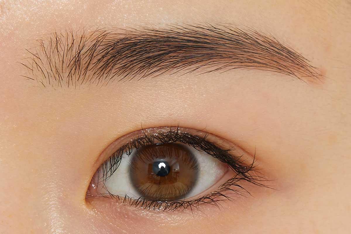 ふんわり眉に仕上がるCANMAKE(キャンメイク)『パウダリーブロウペンシル 04 シュガリーブラウン』の使用感をレポに関する画像8