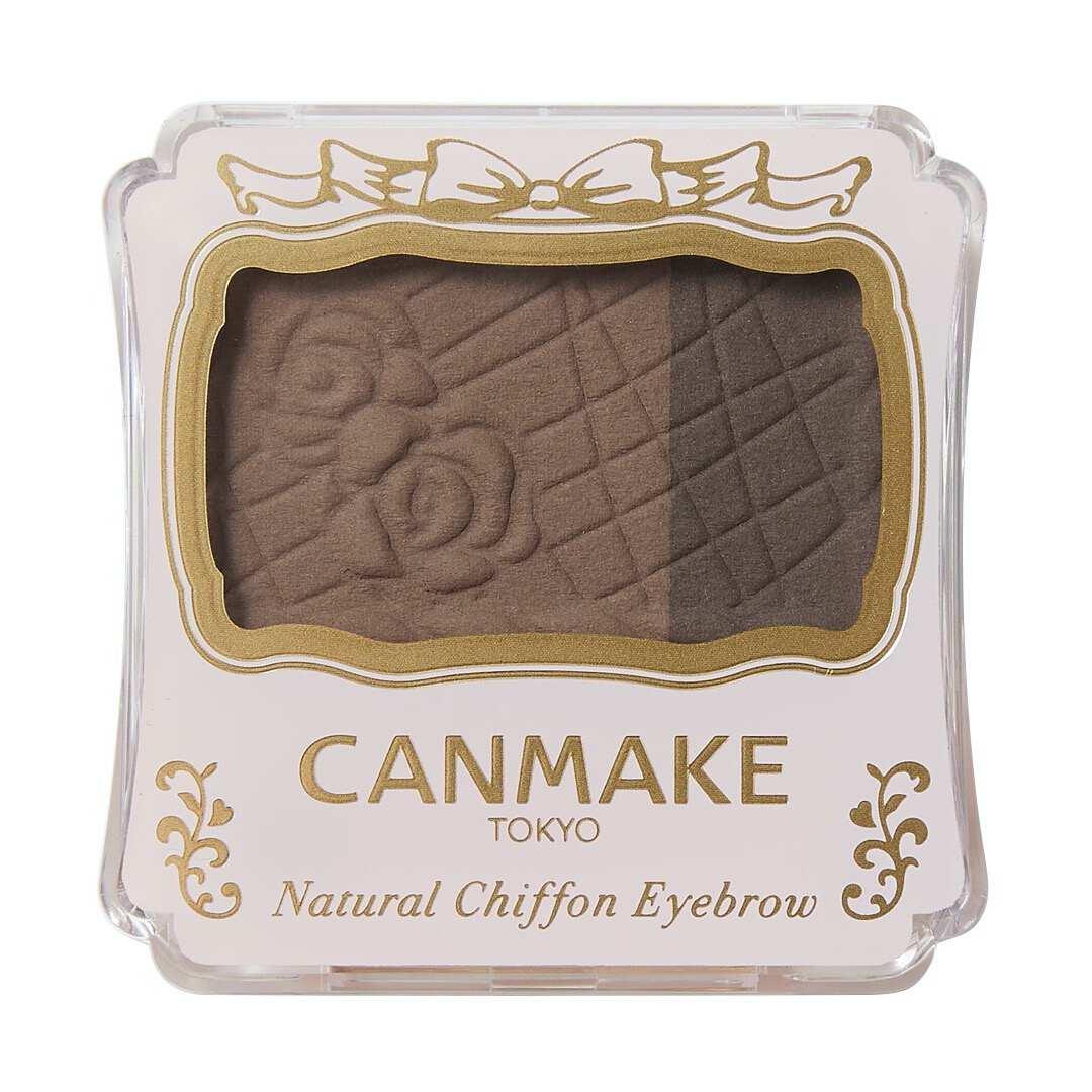 落ち着いた印象のCANMAKE(キャンメイク)『ナチュラルシフォンアイブロウ 01 スウィートティラミス』をご紹介に関する画像4