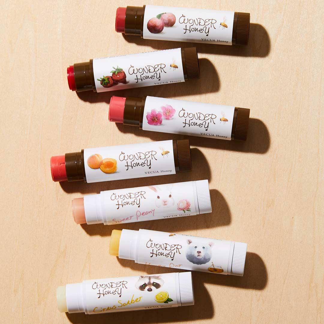 VECUA Honey(べキュアハニー)『ワンダーハニー 色づくジューシー蜜リップ あんず』をレポ!に関する画像1