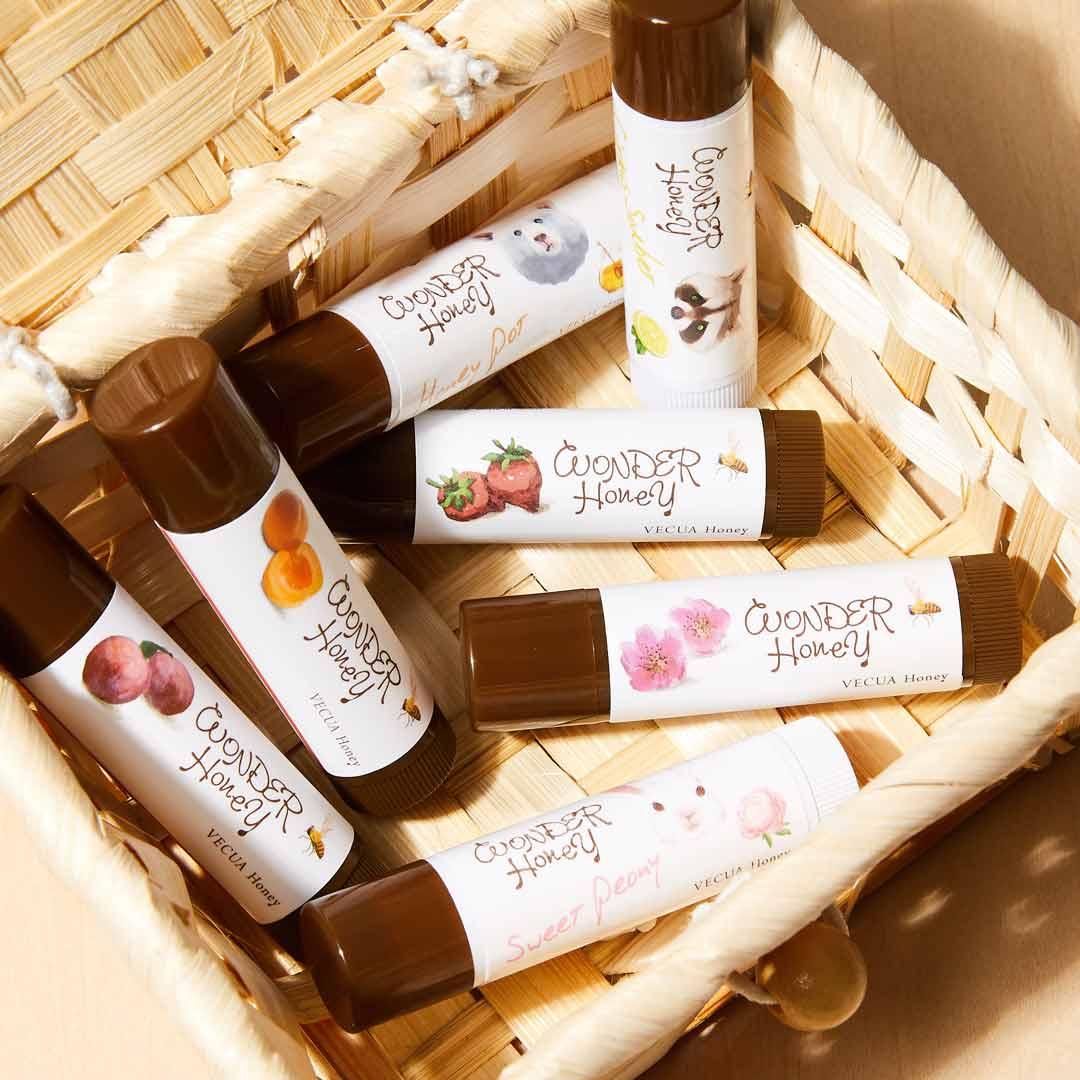 VECUA Honey(べキュアハニー)『ワンダーハニー 色づくジューシー蜜リップ あんず』をレポ!に関する画像14