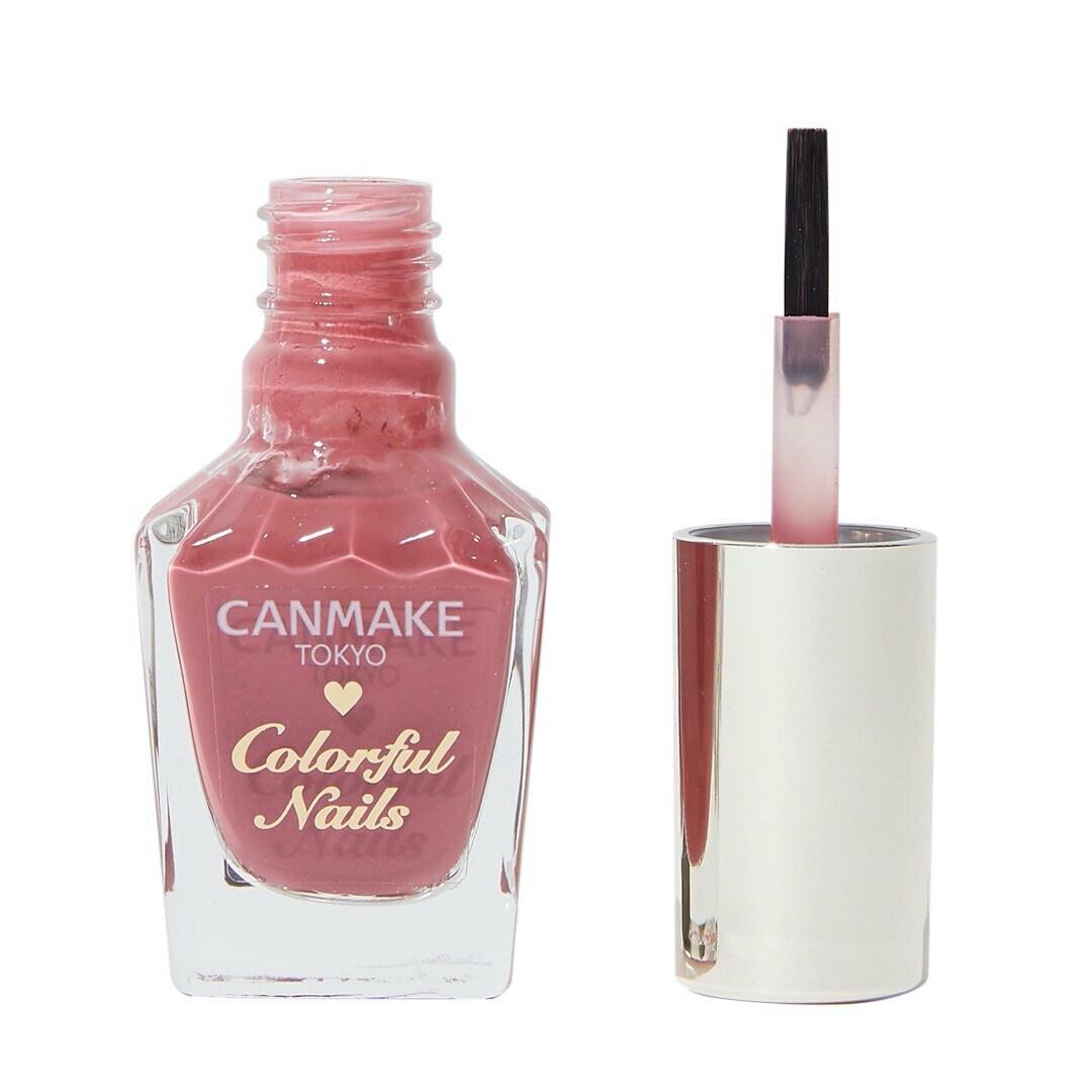 指先を彩るネイルカラーCANMAKE(キャンメイク)『カラフルネイルズ N06 ラズベリーミルク』の使用感をレポ!に関する画像1