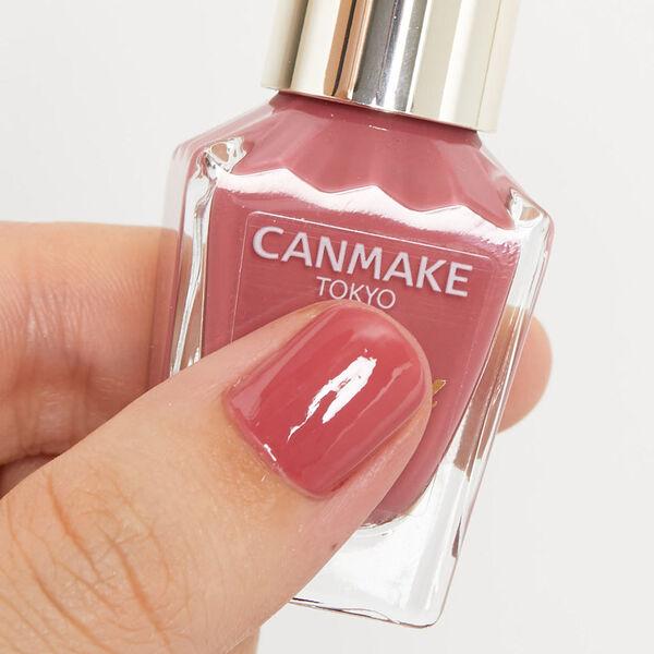 指先を彩るネイルカラーCANMAKE(キャンメイク)『カラフルネイルズ N06 ラズベリーミルク』の使用感をレポ!に関する画像4
