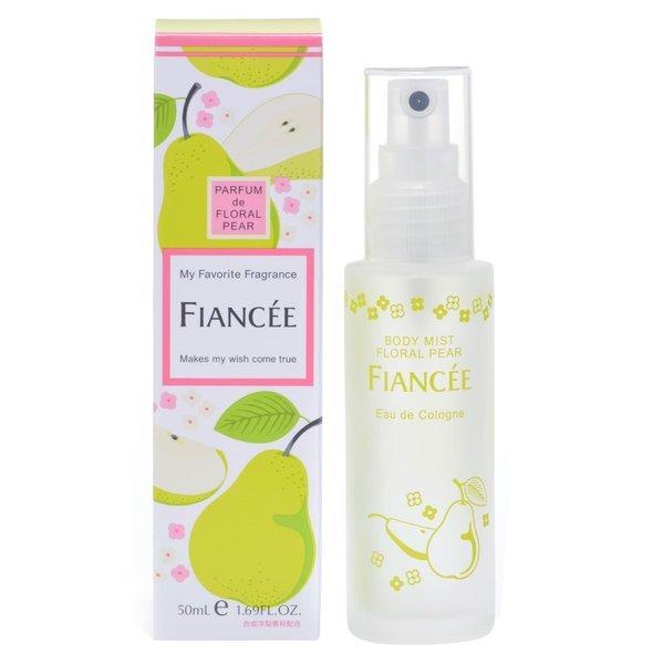 透明感あふれる洋梨の香りFIANCEE(フィアンセ)『ボディミスト フローラルペアーの香り』の使用感をレポに関する画像1
