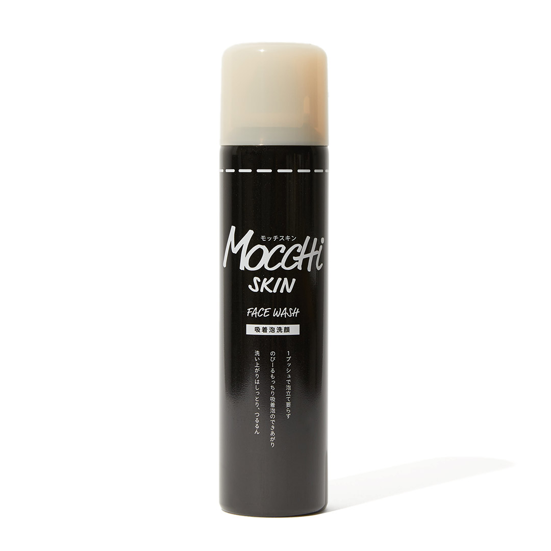 黒い泡に秘密あり! モッチスキン 吸着泡洗顔 BKをレポに関する画像1