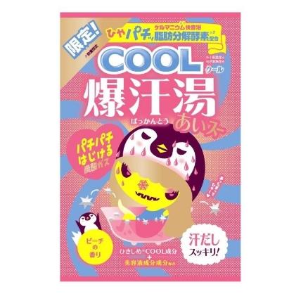 COOL爆汗湯 ピーチの香り 数量限定 60g