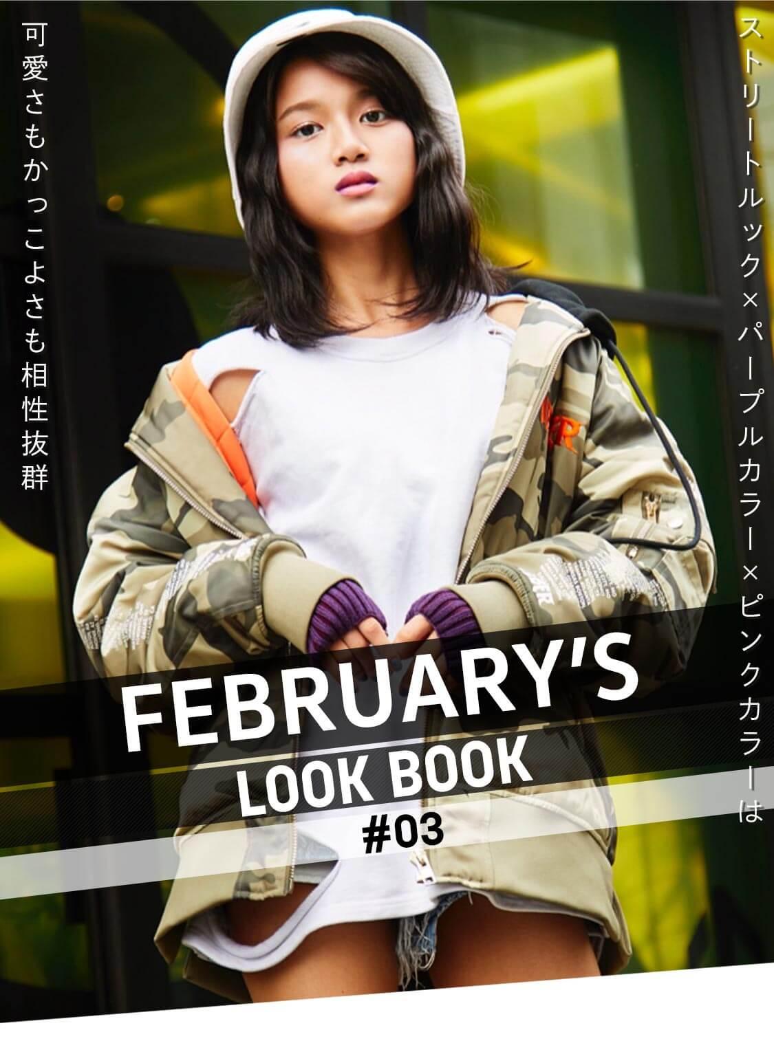 FEBRUARY'S LOOKBOOK vol.3