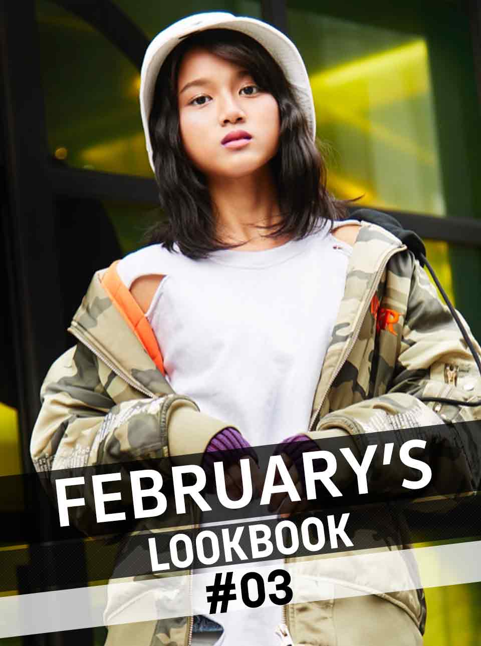FEBRUARY'S LOOKBOOK vol.3