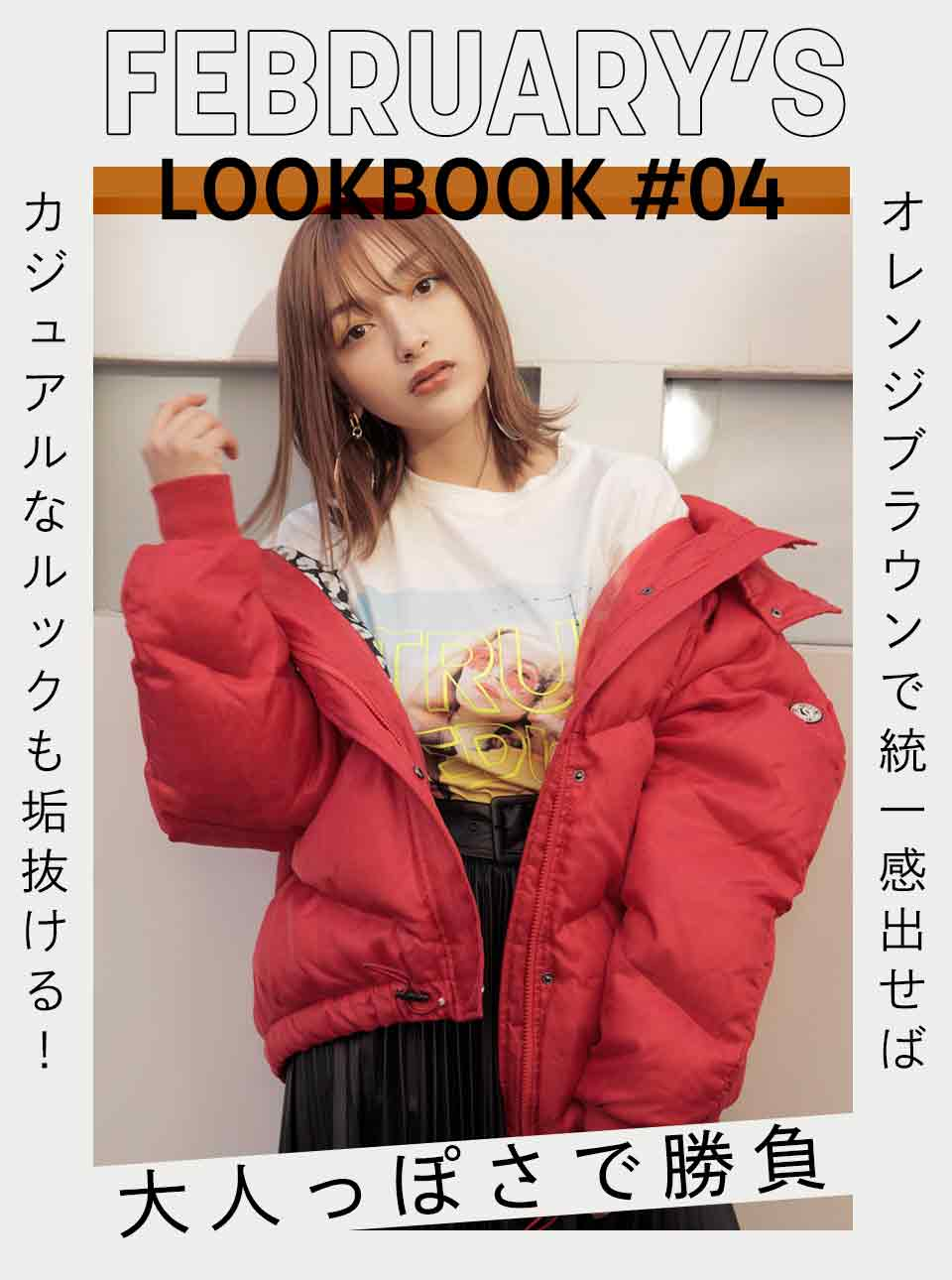 FEBRUARY'S LOOKBOOK vol.4