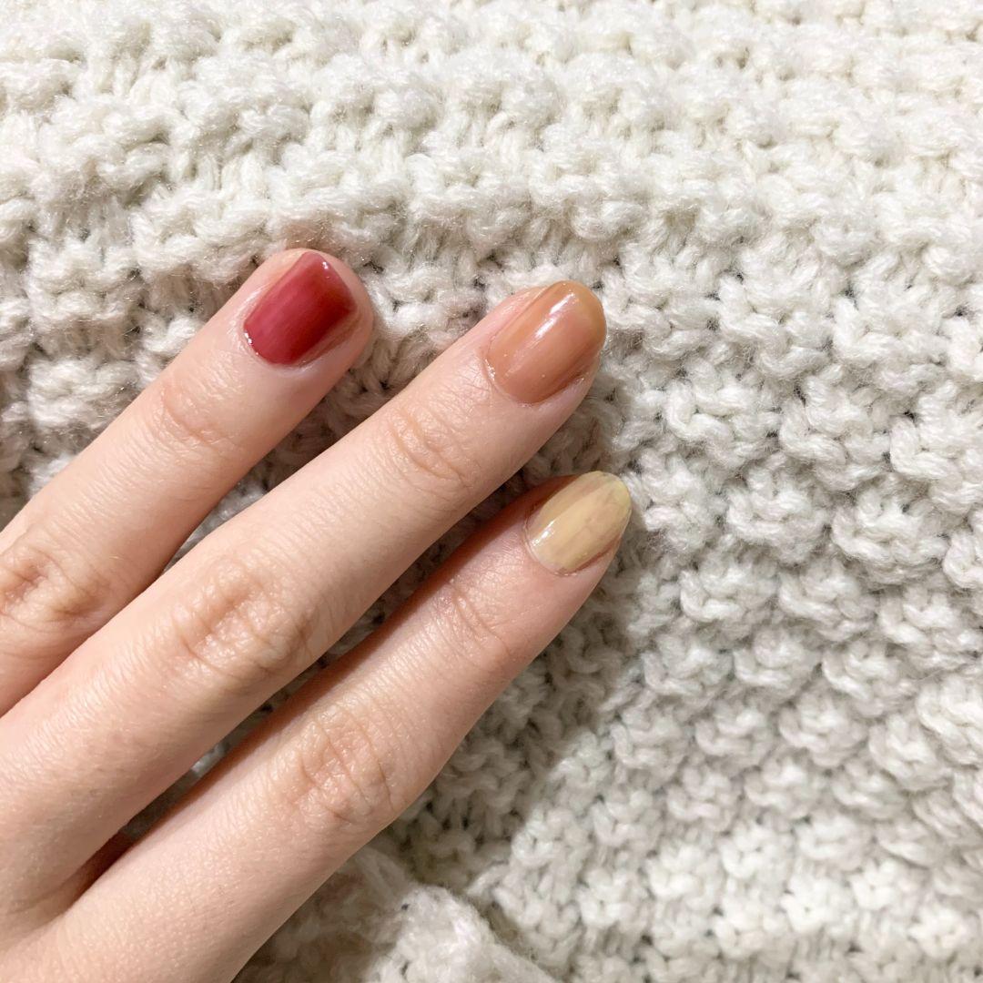 爪先にも透明感を! hince(ヒンス)のネイルカラーでセルフネイルを楽しもう♡の画像