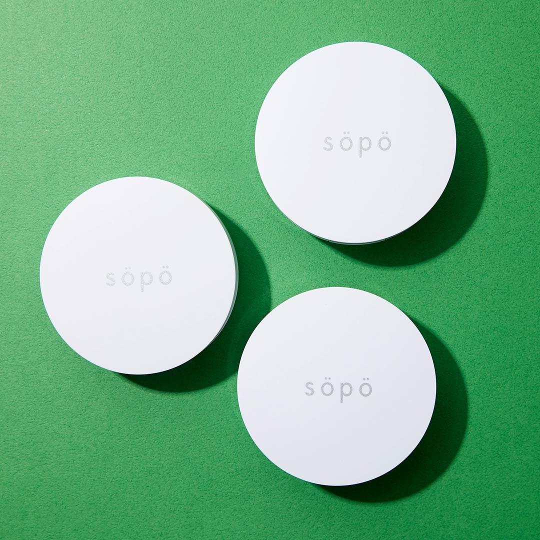 NOINのオリジナルブランド『sopo(ソポ)』のクッションファンデって知ってる? 全国のファミリーマートで3/30販売! 全3色を徹底レポの画像