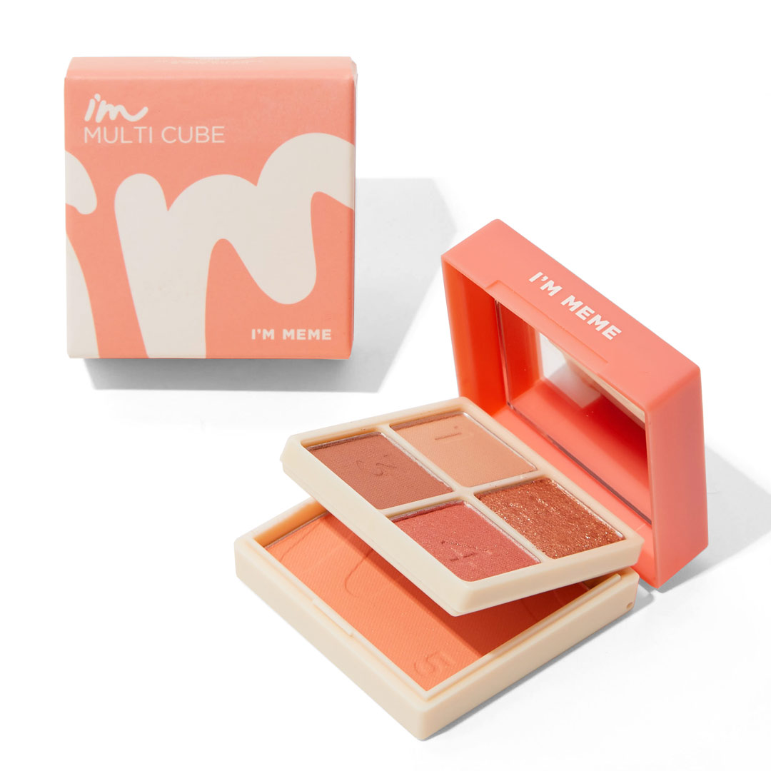 話題の韓国コスメ『I'M MEME(アイムミミ)』のマルチキューブの全カラーレビューの画像