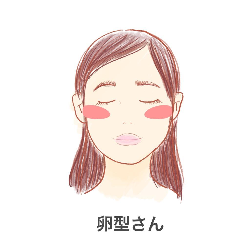「痩せ見え」するチークの入れ方の画像