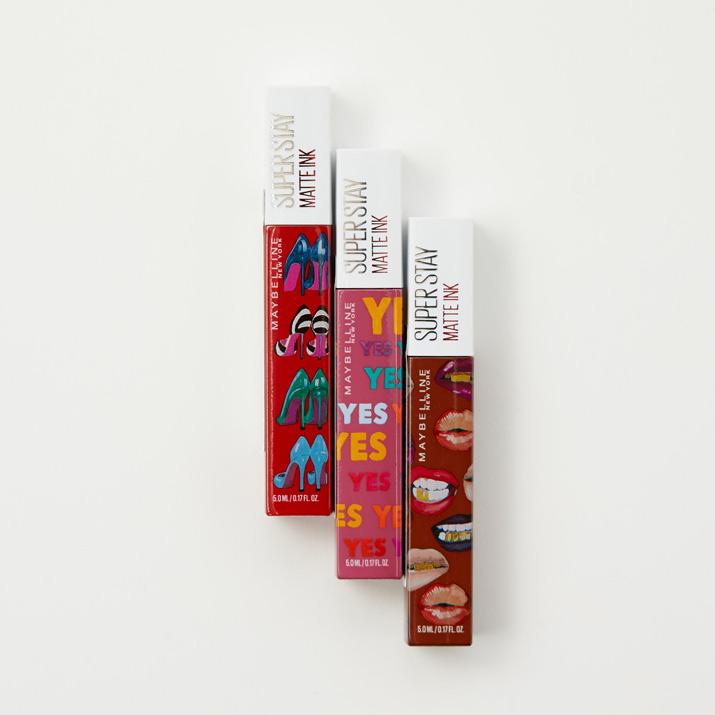 大人気のメイベリン SPステイ マットインクから、待望の限定色と限定コレクションが登場!の画像